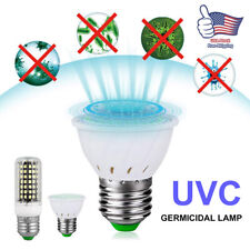 E27 30W Home LED UVC Light Bulb UV Germicidal Lamp Sterilizer Corn Shape Light