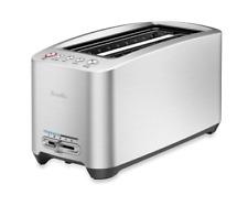 Breville Die-Cast Smart Toaster Adjustable Browning Control Bagel 1600 watts