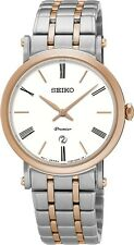 Seiko SXB430 SXB430P1 Premier Ladies Watch WR100m two-tone NEW RRP $750.00