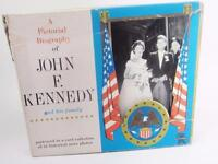John F Kennedy & Family Pictorial JFK Jackie Card Set 42 Historical News Photos