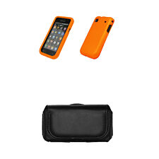 for Samsung Galaxy S I9000 Case Cover Orange+Pouch+Tool