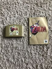 The Legend of Zelda: Ocarina of Time Gold Collector's Edition (N 64) With Manual