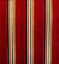 Longaberger Coaster Tote or Tarragon Basket fabric Liner - Holiday Stripe - New