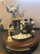 Disney Hudson Fantasia Sorcerers Aprrentice Pewter