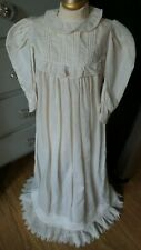 Beautiful! Antique Infant Christening Gown for Composition & Bisque Baby Dolls