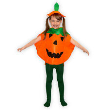 Kostüm Set Kürbis Halloween mit Hut für Kinder