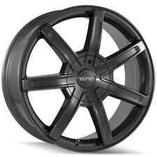 "4-Touren TR65 18x8 6x120/6x132 +30mm Gunmetal Wheels Rims 18"" Inch"