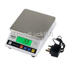 Precision 7500g 7.5kg 0.1g Digital Electric Jewelry Balance Scale Weight LB Lab