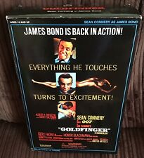 """Sideshow James Bond Goldfinger 007 - Sean Connery 12"""" Collectible Action Figure"""