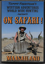 Western Adventures World Wide Hunting (On Safari! Dvd's) - Maasailand