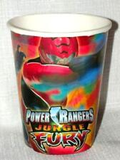 NEW ~POWER RANGERS~ JUNGLE FURY 8- CUPS  HALLMARK MULTI-COLOR    PARTY SUPPLIES