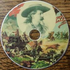 Vintage Cowboys Western Wild West history songs language stories 37 books DVD