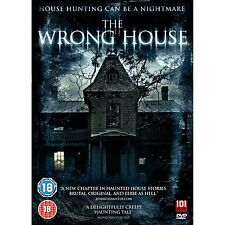 The Wrong House - DVD NEW & SEALED - Horror