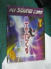 Soundcard PCI - Golden Melody - 32Bit Plug & Play - NEW