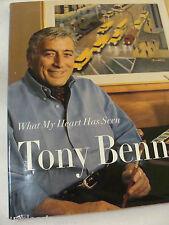 WHAT MY HEART HAS SEEN-TONY BENNETT-HCDJ-RIZZOLI, NY-PRINTED/BOUND IN ITALY-VGC