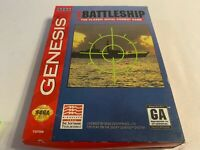 Super Battleship Sega Genesis Complete in Box Tested