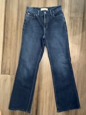 LEVI'S Women's 512 Bootcut Perfectly Slimming Cotton Blend Blue Jeans-Size 8M