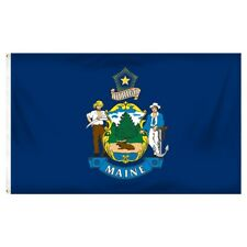 New listing Maine Polyester Us State Flag 3 x 5 Feet
