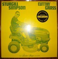 STURGILL SIMPSON CUTTIN GRASS VOL 1 GREEN YELLOW NEW VINYL LP country bluegrass