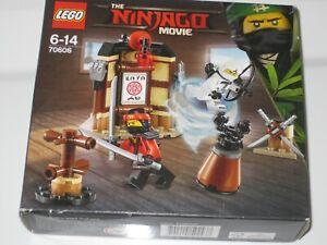 LEGO NINJAGO MOVIE SET 70606 SPINJITZU TRAINING - BRAND NEW