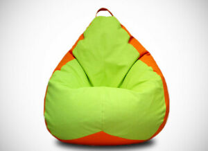Bean Bag Armchair Pear Cover Indoor/Outdoor Game Seat Couch Without Fillings