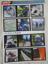 APRILIA PEGASO 650 Folleto de mayo de 1998