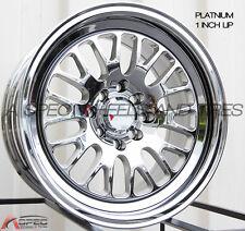 XXR 531 16X8 4x100/114.3 +0 Platinum Wheels Fits Corolla Golf Passat Cabrio E30