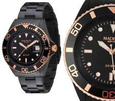 Armbanduhr Schwarz/Rosegold Edelstahl Madison G4790A3 GLAMOR® William 179€ UVP