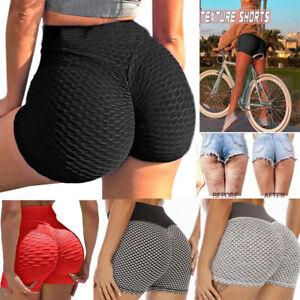 Tik Tok Women Athletic Shorts Active Yoga Pants Fitness Stretch Workouts Gym HSL