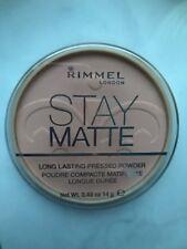 RIMMEL Stay Matte Pressed Powder Kompaktpuder 009 Amber