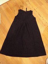 banana blue dark grey wool tunic dress pockets worn once.  M stretch