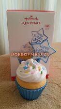 Hallmark 2016 Happy Birthday Jesus Cupcake Magic Music Christmas Ornament