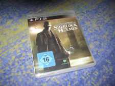 Le testament du Sherlock Holmes ps3 neu&ovp DT Version Scellé Neuf