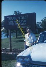 Western Hills Lodge Sequoyah State Park Oklahoma 1960s 35mm Slide Vtg Kodachrome