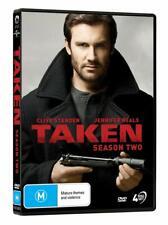 TAKEN 2 (2018): TV Season Series prequel to Film Trilogy - NEW Au Rg4 DVD