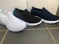 Men Sneakers Slip on Shoes Breathable Walking Running Sneakers Soft Comfortable