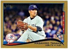 MASAHIRO TANAKA - 2014 TOPPS UPDATE GOLD RC