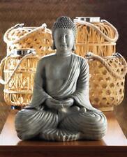 "large 16"" outdoor Thai BUDDHA Zen Meditation garden peace sitting statue Hindu"