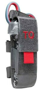 VISM Tourniquet & Tactical Shear Pouch MOLLE Medic Gear First Aid Responder GRY-