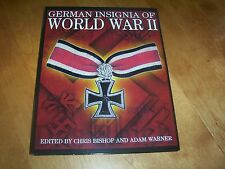 GERMAN INSIGNIA OF WORLD WAR II Badges Medals SS WWII NAZI Antiques Book NEW