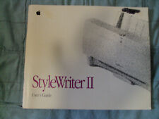 Apple StyleWriter II User Guide and Installation Discs