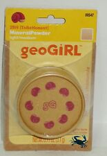 1 GeoGiRL TBH To Be Honest Mineral Powder Soften Perfects Skin LIGHT/MEDIUM #54