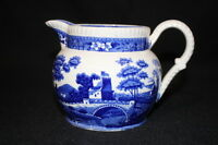 Copeland Spode's Tower Blue Pitcher or Jug Old Mark, Mint