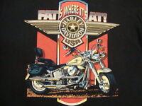 Vintage 90's Harley Davidson Motorcycle biker Gator Florida Holoubek T Shirt L