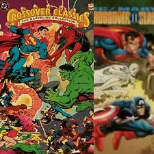 Crossover Classics I & II 1 2: The Marvel/DC Collection TPB NEAR MINT 1st Print!