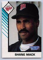 1993  SHANE MACK - Kenner Starting Lineup Baseball Card - MINNESOTA TWINS