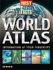 World Atlas (Just the Facts) Paperback Teacher Resource