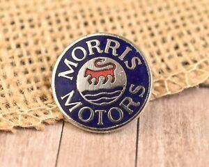 Vintage Morris Motors Enamel Small Ish  Pin Badge  car Auto Collectable