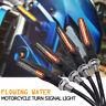 4x LED Motorrad Mini Blinker 12V Sequentiell Lauflicht Blinkleuchte ATV Roller