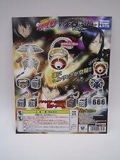 Katekyo Hitman Reborn Ring & Box Charm Collection P2 Toy Machine Paper Card